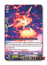 Cardfight Vanguard  x 4 Heat Elemental, Juge - G-BT05/104EN - C Mint