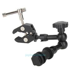 "7"" Inch Articulating Magic Arm + Super Clamp for DSLR Rig Camera LCD Monitor LED"