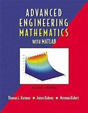 Advanced Engineering Mathematics with MATLAB by Norman Richert, James Dabney...