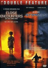 Close Encounters of the Third Kind/Starman [2 Discs] (2010, DVD New)