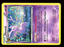 PROMO POKEMON CARD FRANCAISE MAC DONALD N&B 2013 HOLO N°  7/12 MENTALI ....