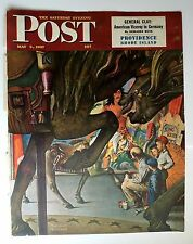 Authentic May 3, 1947 Saturday Evening Post Cover Norman Rockwell