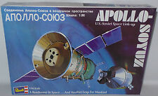 SPACE : APOLLO-SOYUZ 1:96 SCALE MODEL KIT MADE BY REVELL IN 1996