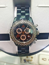 TECHNO JPM CHRONOGRAPH BLACK CERAMIC DIAMOND WATCH