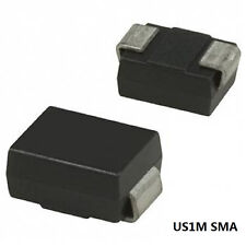 100PCS US1M SMA DIODE ULTRA FAST RECOVERY 1A 1000V RECTIFIER DIODE