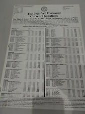 The Bradford Exchange Current Quotations Autumn 1993 UK Edition Price List
