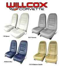 1970-1978 Corvette Leather Like Seat Covers Available in all Original Colors!