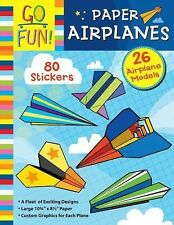 Go Fun! Paper Airplanes by Accord Publishing Staff (2014, Paperback)