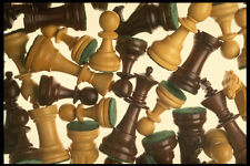 703087 Chess Pieces A4 Photo Texture Print