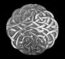 INTRICATE CELTIC ROUND KNOT BELT BUCKLE NEW BUCKLES