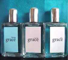New .33oz Philosophy 3pc Grace Fragrance Set Splash Perfume AMAZING PURE LIVING
