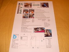 Boxford Brochure: 3D CNC Cadcam Centre Specification Sheet - As Photo