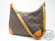 AUTH PRE-OWNED LOUIS VUITTON LV MONOGRAM BOULOGNE 30 SHOULDER TOTE BAG M51265 NR