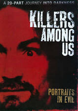 Killers Among Us 4 DVD Portraits of Evil/Journey Into Darkness Charles Manson/MO