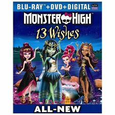 Monster High: 13 Wishes Blu-ray + DVD + Digital Copy + UltraViolet