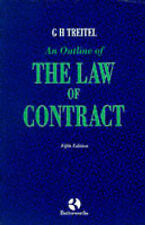 Treitel: an Outline of the Law of Contract, Treitel, G.H., Used; Good Book
