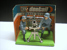 Figurines soldats mortier Combat Weapons Deetail