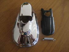 NEW VINTAGE BMW /2 IGNITION  CHROME SWITCH COVER SET NEW R25-R69S-R75/5