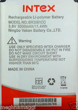 NEW REPLACEMENT 3.8V BATTERY For Intex  BR3061CC  3000mAh/11.4Wh