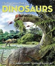 The Big Golden Book of Dinosaurs (Big Golden Books)-ExLibrary