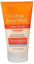 Neutrogena Oil-Free Acne Wash Daily Scrub 4.20 oz (Pack of 2)