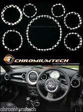 MINI Cooper/S/One R58 Coupe R59 Roadster R56 Chequered Flag Interior Ring Kit