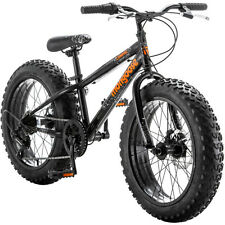 "20"" Mongoose Boys' Compac Fat Tire Bike 7 Speed Shimano All Terrain Bicycle New"