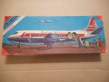 Vintage Hawk American Airlines Viscount Airliner Model Kit 1/8 Complete