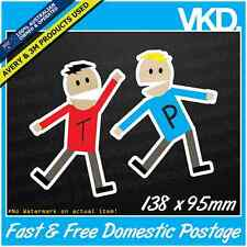 Terrance & Phillip Sticker/Decal - South Park Funny JDM Cartoon Car Cartman 4x4