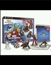 Disney Infinity Marvel Super Heroes 2.0 edition PS 3 Starter Pack NIB !