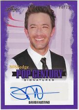"2015 POP CENTURY AUTO: DAVID FAUSTINO #13/15 AUTOGRAPH ""MARRIED WITH CHILDREN"""
