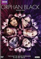 Orphan Black: The Complete Fourth Season Four 4 (DVD, 2016, 4-Disc Set) NEW