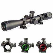 M1 Long Range Illuminated 3.5-10x40e Mil-dot Optics Rifle Scope Free 20mm Mounts