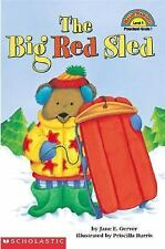 The Big Red Sled (Scholastic Reader, Level 1), Jane E. Gerver, Good Book