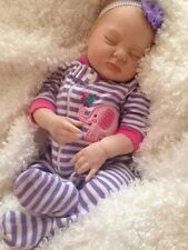 "Reborn Sleeping Girl ""Emma"" - Doll Therapy for People with Alzheimer & Caregiver"