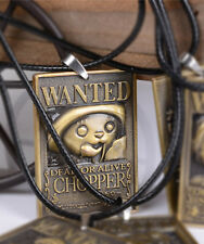 Anime One Piece Wanted Tony Chopper Necklace Pendant