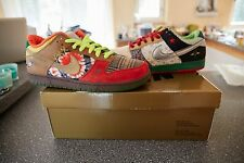 NIKE SB WHAT THE DUNK DS NEVER WORN OR TRIED ON 100% Authentic DS SIZE 11.5
