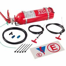 Lifeline 2.25L AFFF  Manual Pull Racing Fire Extinguisher Bottle System