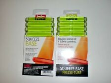 Lot of 8 Joie Squeeze Ease Tube Squeezer Toothpaste Sunscreen Glue Clip Pack