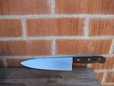 "Vintage 8"" Blade *** CHICAGO CUTLERY 42S *** Professional Chef Knife USA"
