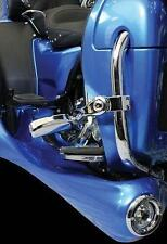 Motor Trike Chrome Accent Rings for Trax Fog Lights on Harley Motorcycles