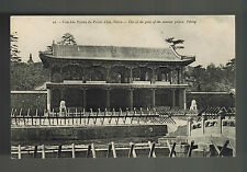 Mint  RPPC Peking China Real Picture Postcard Summer Palace Gate