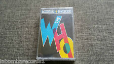 ZZ- CASSETTE - ROCKSTARS IN CONCERT - THE WHO - RARE - SEALED - SPA
