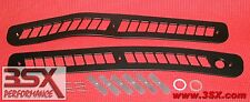3000GT Aluminum DASH VENTS ** BLACK ** Windshield Defroster PAIR * MADE IN USA *