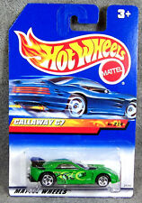 HOT WHEELS ~ CALLAWAY C7 CORVETTE ~ GREEN