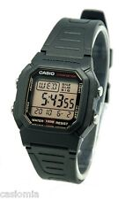 Casio W800HG-9A Mens Black Resin Classic Digital Sports Watch 100M 10 yr Battery