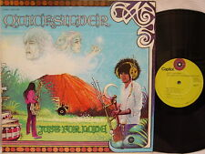"""QUICKSILVER MESSENGER SERVICE - Just for Love LP (1st Issue on """"lime"""" CAPITOL)"""
