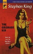 """GOOD COND""  THE COLORADO KID by Stephen King (2005) PAPERBACK"