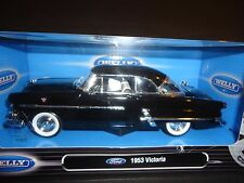 Welly Ford Victoria 1953 Black 1/24