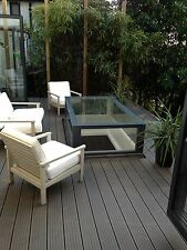 Composite Decking Clarity Walnut 12 Square Metre Pack (incl. fixings and screws)